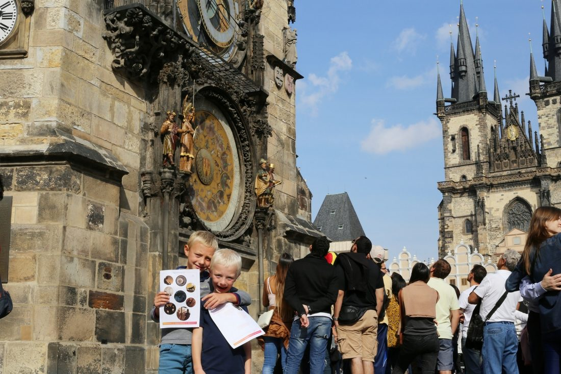 4 fun activities with kids in Prague Old Town
