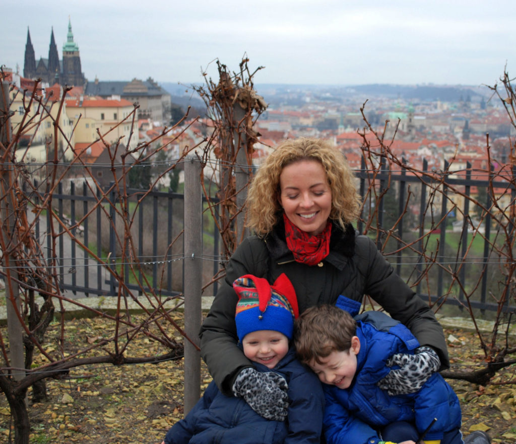 Jim an Jen from the UK visited Prague in December 2016.