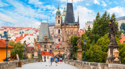 The best spots to snap your family photo in Prague